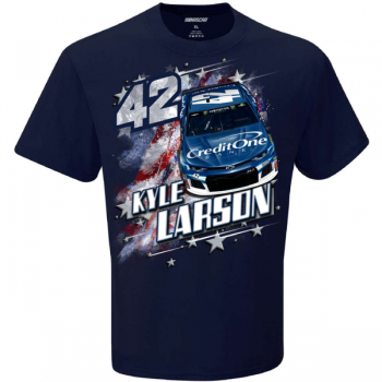 #42, Kyle Larson - Credit One T-Shirt