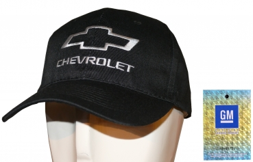 "Chevrolet ""Basic"" Basecap in schwarz"