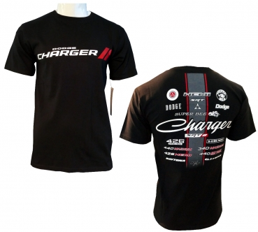 Dodge Charger Collage T-Shirt