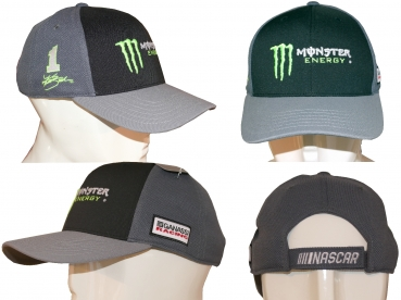 "Kurt Busch # 1 - ""Monster Energy"" Basecap - Modell 2020"