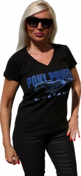 "Mustang Damen T-Shirt - ""Pony Power"""