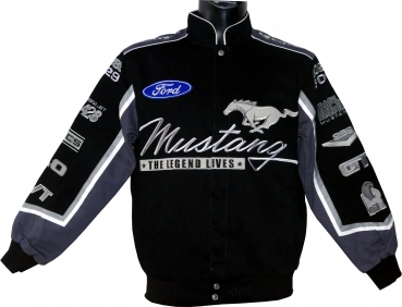 Mustang Jacke - Collage