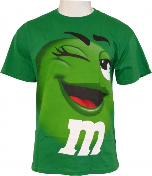 """m&m`s"" T-Shirt - I like the Green ones"