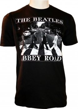 The BEATLES - T-Shirt - Abbey Road