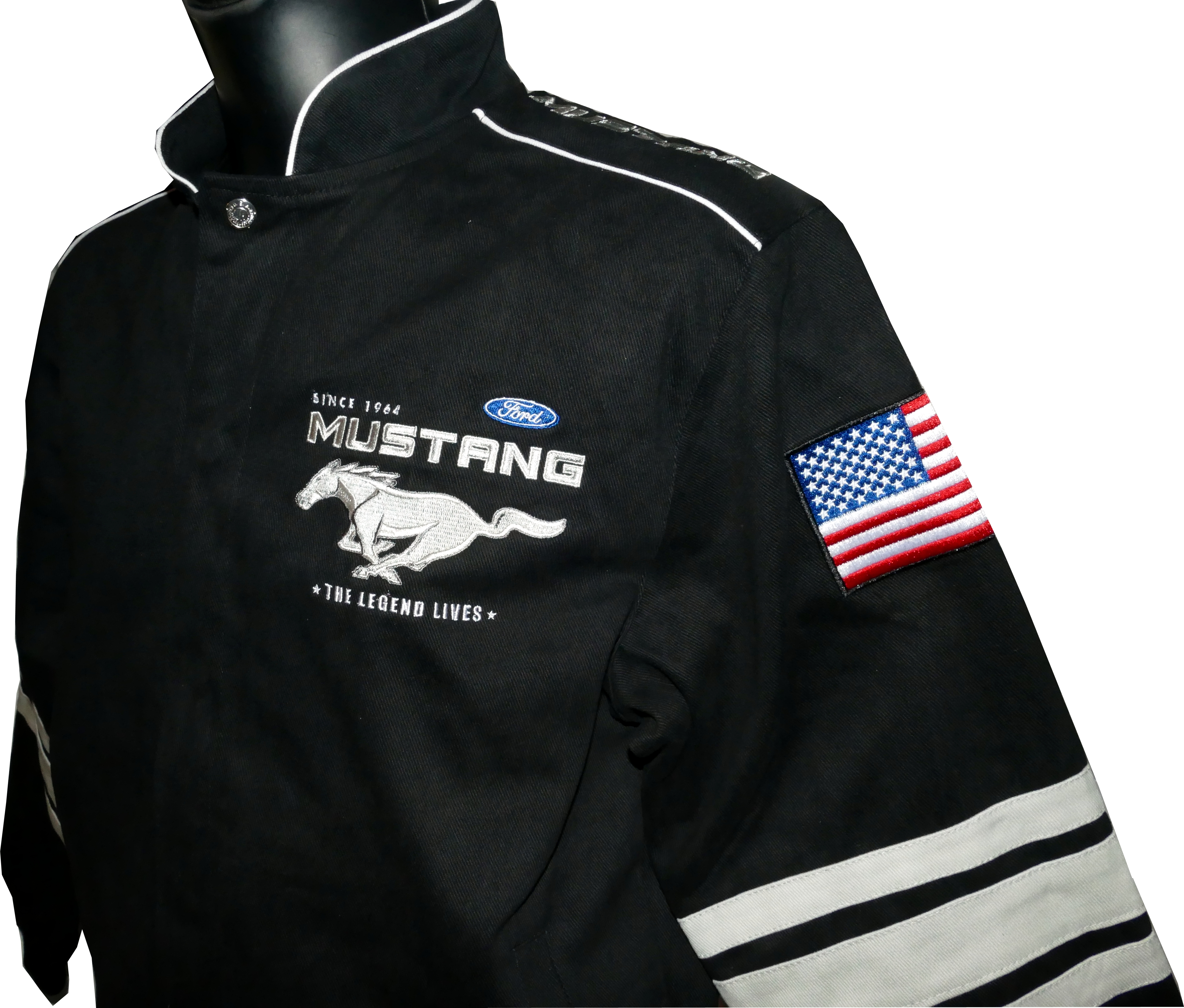 Mustang Gift I Mustang Jacket I Mustang Hoodie I Mustang I Mustang  Embroidered Champion Packable Jacket